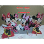 Minnie Vermelha De Mesa,display,festa Infantil,mdf