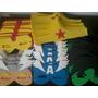 Máscara Eva Vingadores E Super Heróis 40 Pçs