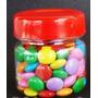10 - Pote Geléia Plastico 40ml (sextavado-redondo)- Tubetes