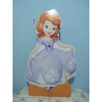 Princesa Sofia De Chão E Mesa,display,festa Infantil,mdf