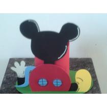 Centro De Mesa Casinha Do Mickey 10 Unidades
