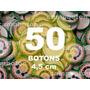 Boton Botton Personalizado 4,5 Cm 50 Unidades Button Botom