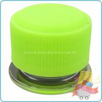 Tubo De Ensaio Tubete Pet 10cm Tp/ Plástica Verde Limão 30un