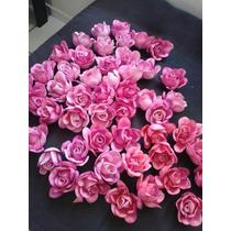 100 Rosas Eva 3 Cm De Diametro Para Lembracinhas