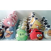 Almofada Pescoço Personalizada Lembrancinha Angry Birds