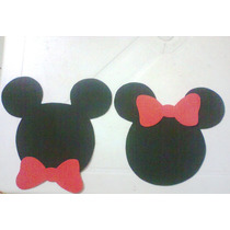 Varal Em Eva Da Minie Ou Do Mickey - 20 Cm