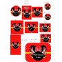 Minnie Vermelha Rótulos Adesivos Personalizados Para Festas