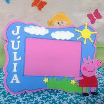 Porta Retrato Peppa Pig Em Eva