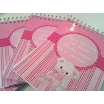Bloquinhos Personalizados Com Lápis Para Maternidade - 40