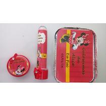Kit Festa Infantil Personalizado Minnie - 30 Unid