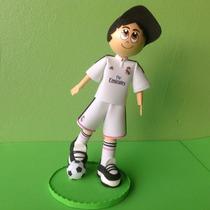 Boneco Torcedor Do Real Madrid Em Eva 3d 24cm