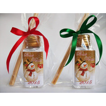 50 Lembrancinha Mini Aroma/difusor De Natal Personalizados