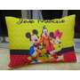 Almofada Personalizada Turma Do Mickey (pacote Com 10unid)