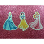 Princesas Disney - Scrap Aplique Com Recorte Especial