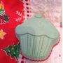 Sabonete Artesanal Cupcake (tema Natal)