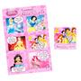 50 Convites Gibi Princesas Disney 10x15 + 50 Selinhos Grátis