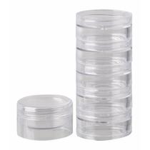 50 Potes Cristal Acrilico 4 Gr - Torre - P/ Make Glitter