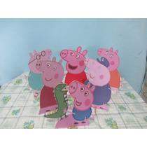 Peppa Pig De Mesa,display,festa Infantil,mdf Peppa