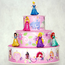 Bolo Fake Das Princesas