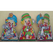 1 Totem Chão 80cm Decoração De Festa Infantil Vários Temas