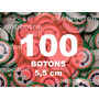 Boton Botton Personalizado 5,5 Cm 100 Unidades Button Botom