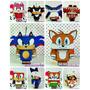 Caixinha Lembrancinha - Tema Sonic 1