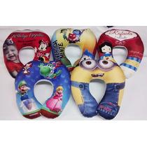 40 Almofadas Personalizadas De Pescoço - Infantil