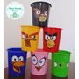 20 Baldes De Pipoca Personalizados Angry Birds 1 Litro