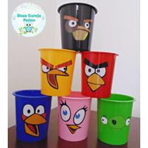 40 Baldes De Pipoca Personalizados Angry Birds 1 Litro