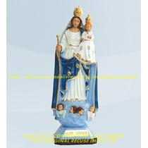 Lembrança Nossa Senhora Da Ajuda 15 Peças Imagem 20cm Cada