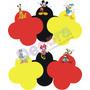 Forminhas Personalizadas Com Personagem Mickey E Sua Turma