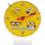 50 Relógios De Mesa Personalizados De Acrilico C/ Visor
