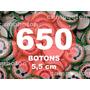 Boton Botton Personalizado 5,5 Cm 650 Unidades Button Botom