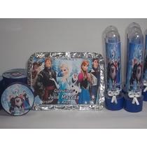 Kit Festa Personalizada Frozen,minions E Etc C/ 90 Unidades