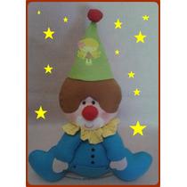Palhaço Em Feltro Festa Decoração Lembrancinha Circo