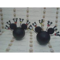 Centro De Mesa Personalizado Minnie Ou Mickey