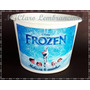 10 Baldes De Pipoca Personalizado Frozen 1,5 L Envio Rápido!
