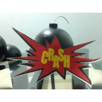 3 Bombas Isopor,vingadores,super Herois,bola Isopor