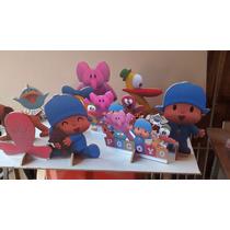 Pocoyo Cenario De Mesa,display,festa Infantil,mdf