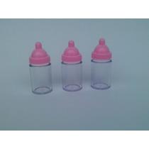 12 Mini Mamadeiras Para Maternidade E Chá De Bebê