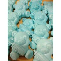 100 Mini Sabonetes Ursinho Para Lembrancinha De Chá De Bebê