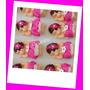 Kit 10 Bebe Biscuit Lembrancinha Menina Pink
