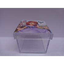 100 Caixinha Acrílico Personalizada Lembrancinha 4x4 F.grati