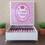 Charutos De Chocolate Maternidade - Tema Maria Clara Floral