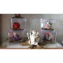 Kit 5 Flores De Lótus Em Tecido - Orinuno