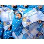 Lembranças Nascimento Bebê Cobertinha Para Menino