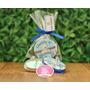 50 Lembrancinha Latinha Personalizada Com Sabonete Bebe Lata