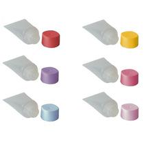 Mini Bisnaga Plástica De 15ml (pacote C/ 100 Unidades)