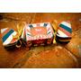 Caixa Bala/ Bombom Personalizada Circo Vintage- Papel Fosco