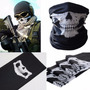 Multi Bandana Caveira Moto Cachecol Máscara Facial Paintball